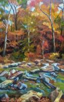 Landscapes - Sope Creek - Oil On Canvas